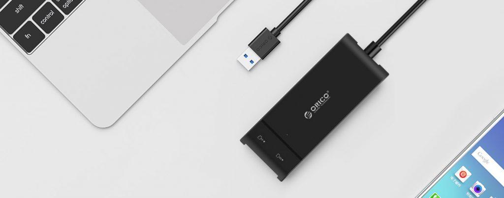 Hub and Card Reader USB 3.0 ORICO H32TS-U3