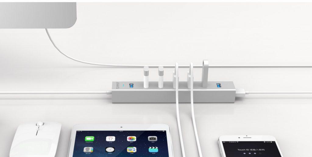 هاب 7 پورت USB 3.0 مدل ORICO H7013-U3