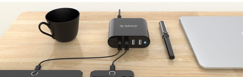 شارژر رومیزی USB مدل DCH-4U