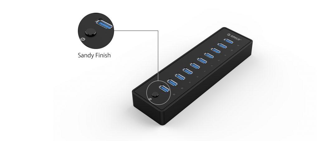 هاب 10 پورت USB 3.0 مدل ORICO P10-U3-V1