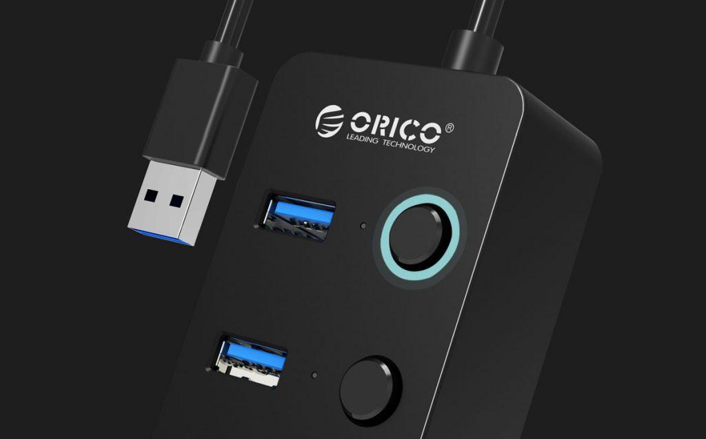 هاب 4 پورت USB 3.0 مدل ORICO W9PH4-U3-V1