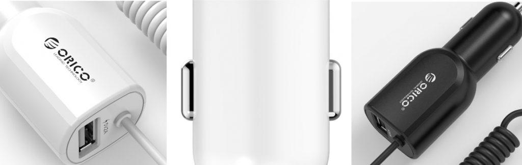 شارژر فندکی USB ماشین مدل ORICO UCA-1U1C
