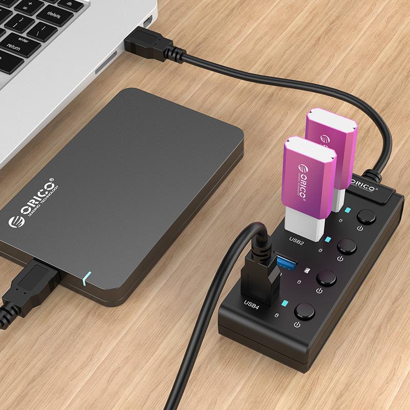 هاب USB 3.0 مدل ORICO W9PH4-U3