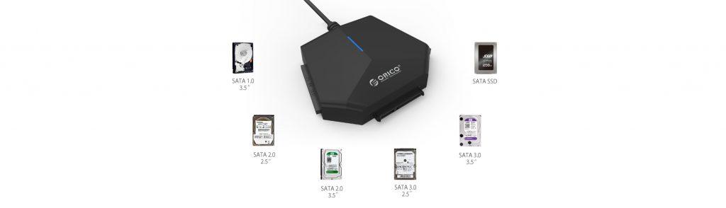 تبدیل SATA و IDE به USB3.0 مدل ORICO U3TIS