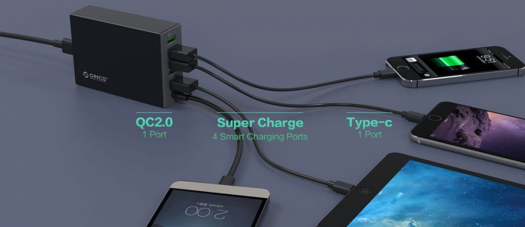 شارژر با خروجی Type-C