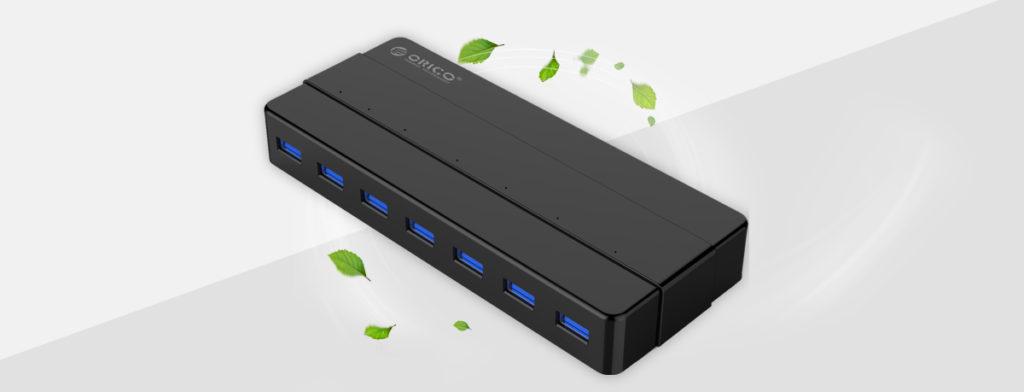 هاب 7 پورت USB3.0