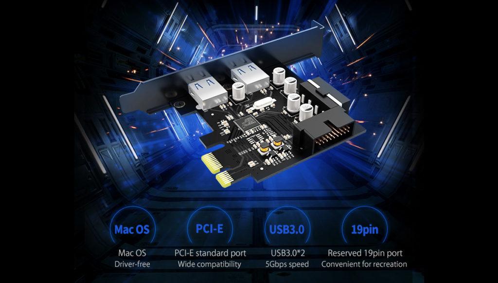 PCI Express USB 3.0
