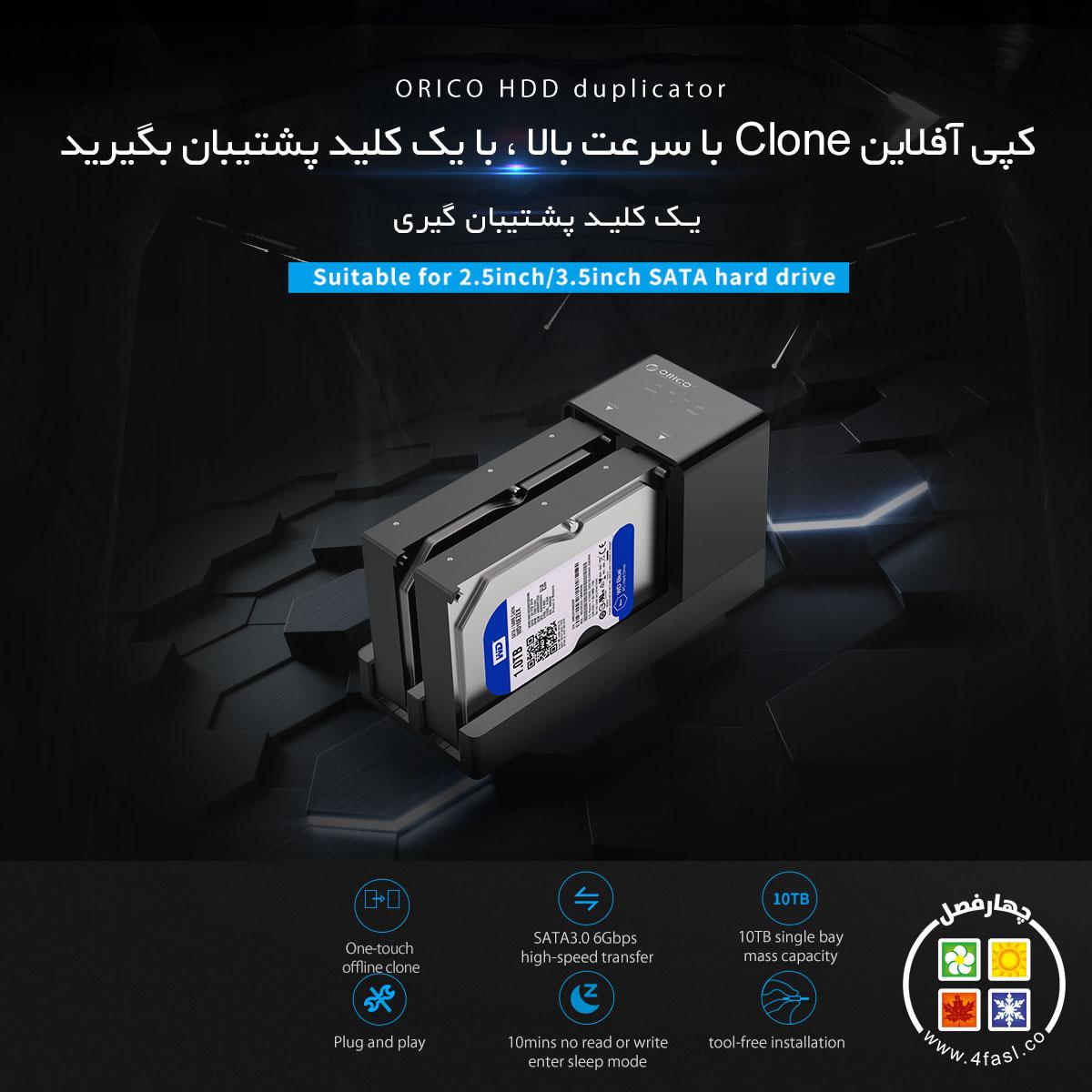 تکثر کننده SSD و هارد