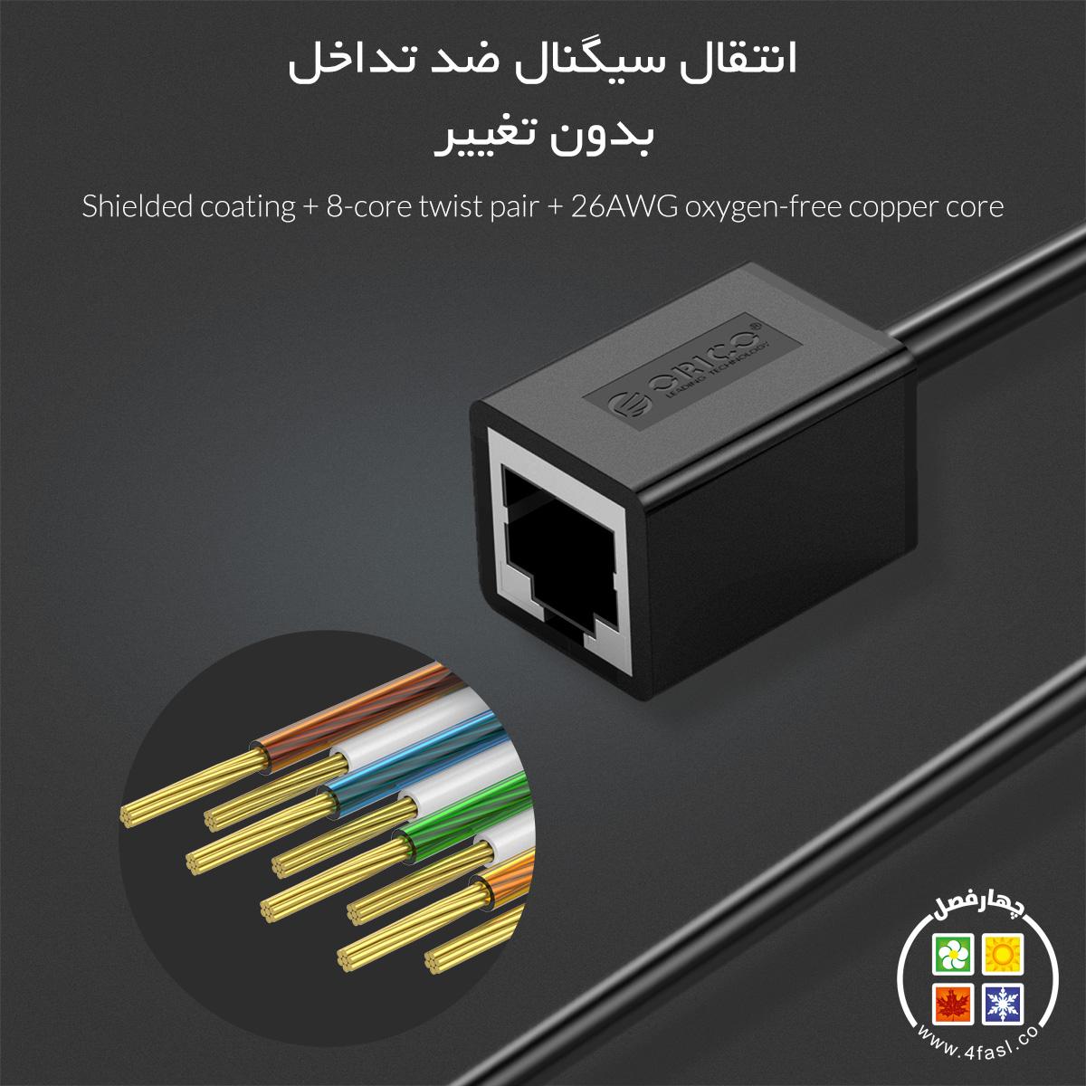 افزایش طول شبکه