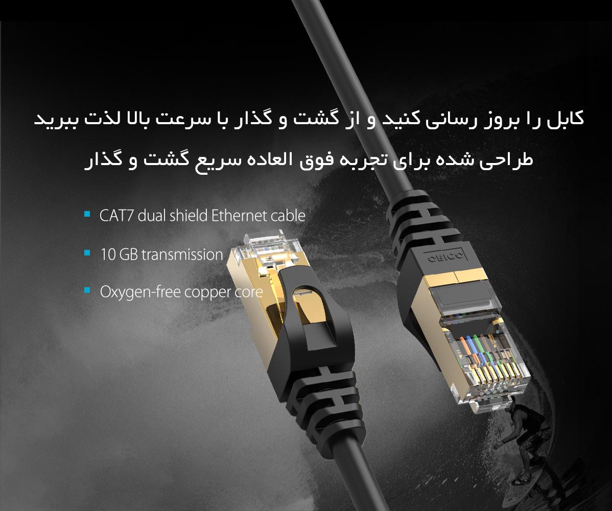 کابل شبکه Cat7
