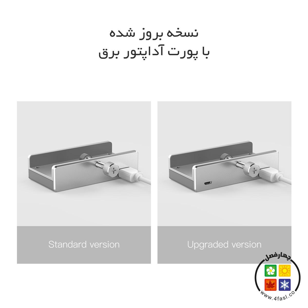 هاب 4 پورت USB 3.0 فلزی