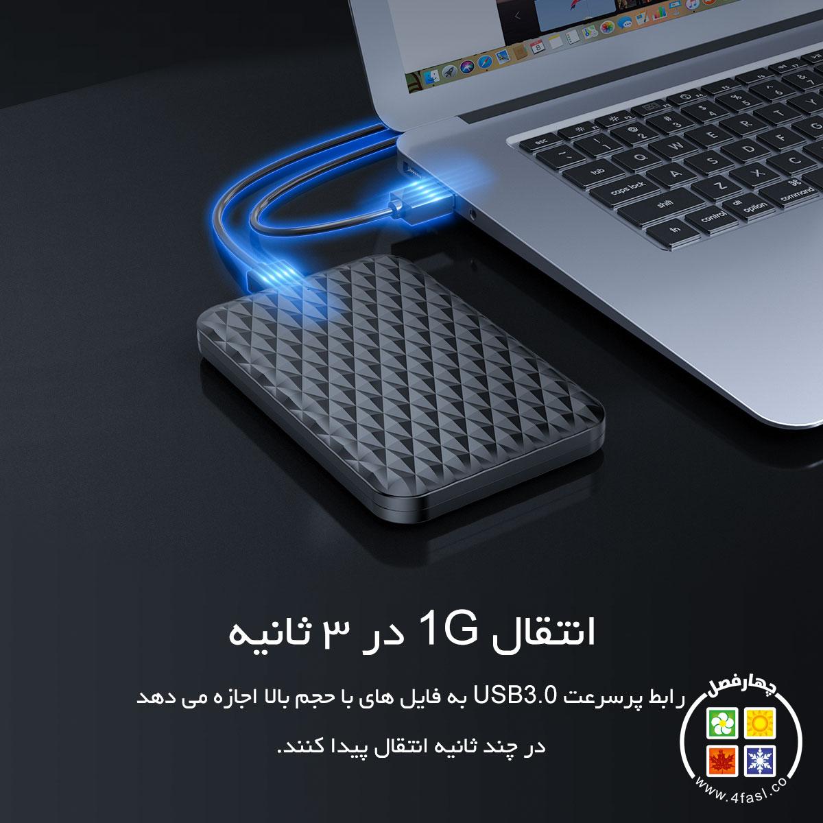 قاب SSD و هارد 2.5 اینچ