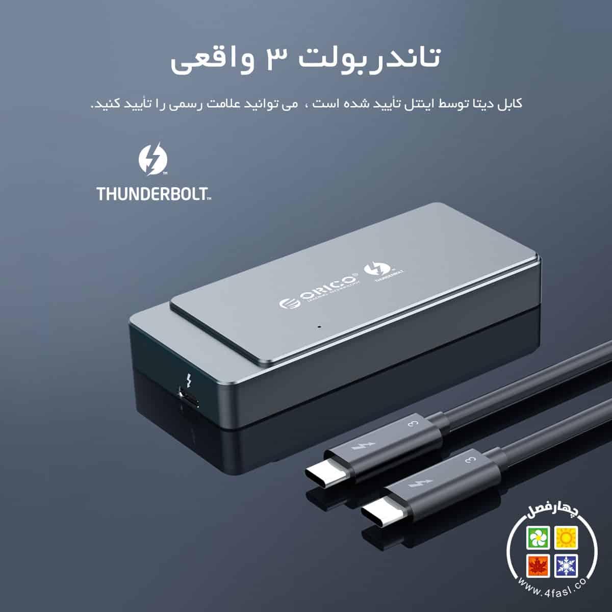 باکس Thunderbolt 3