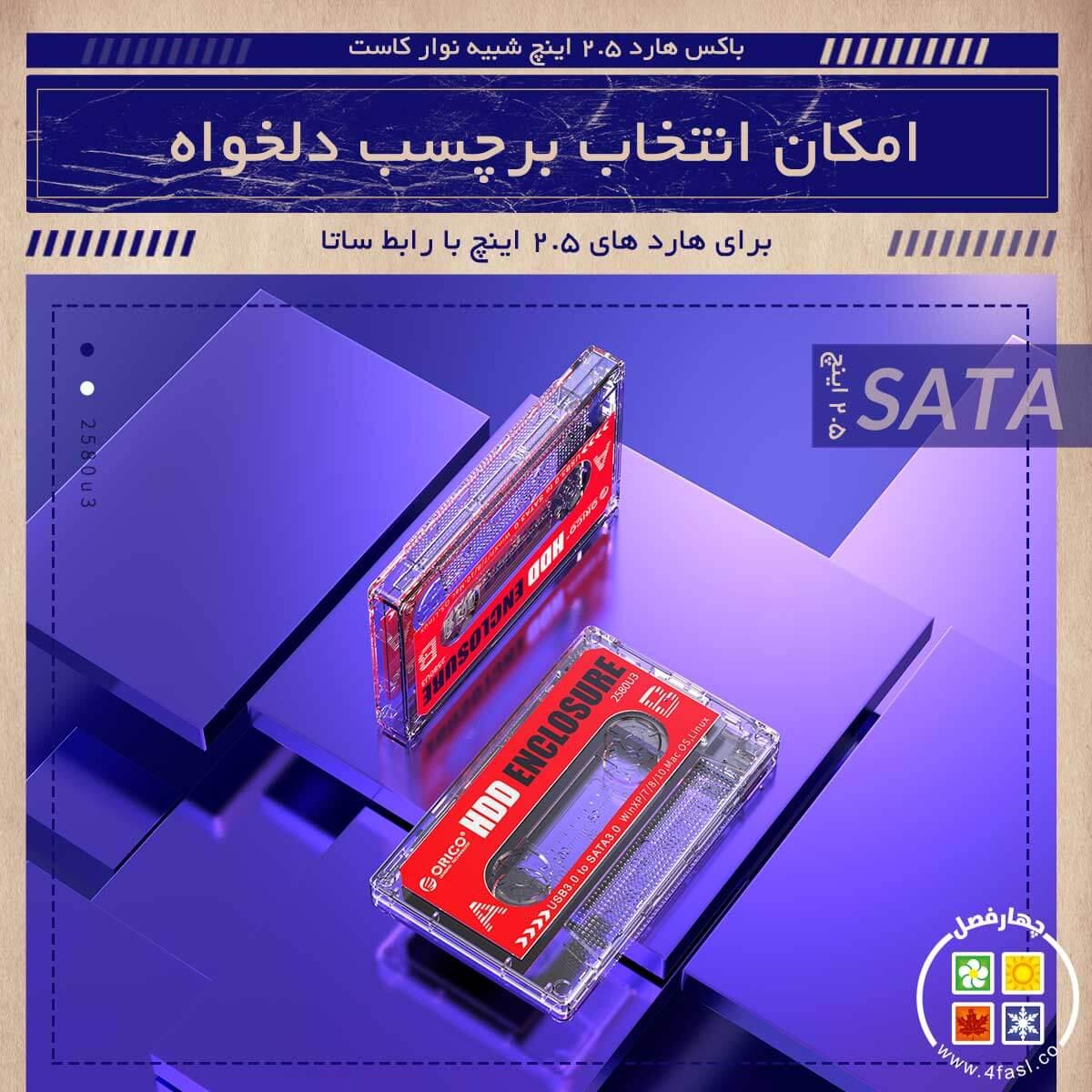 قاب هارد و SSD نوستالژی