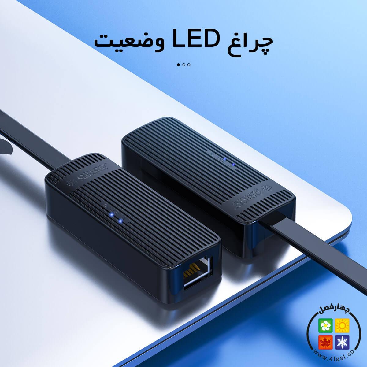 تبدیل USB3.0 به شبکه